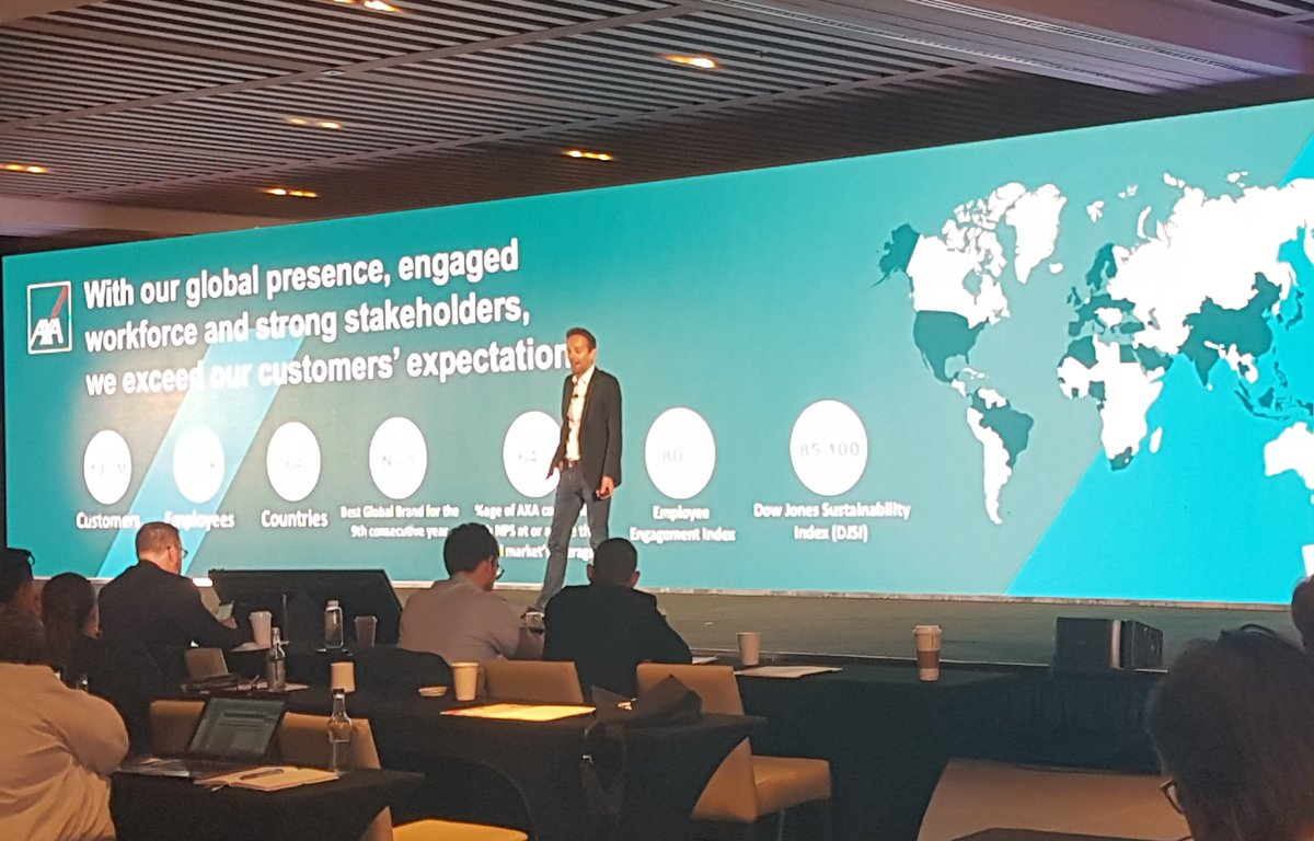 RT IvanK_NH: .ThomasRudelle AXA France:  Your customers are on social media and they are mobile! Globally, the mobile social users are ~3bn and growing Sitel_WorldWide #SitelSummit NHInsight