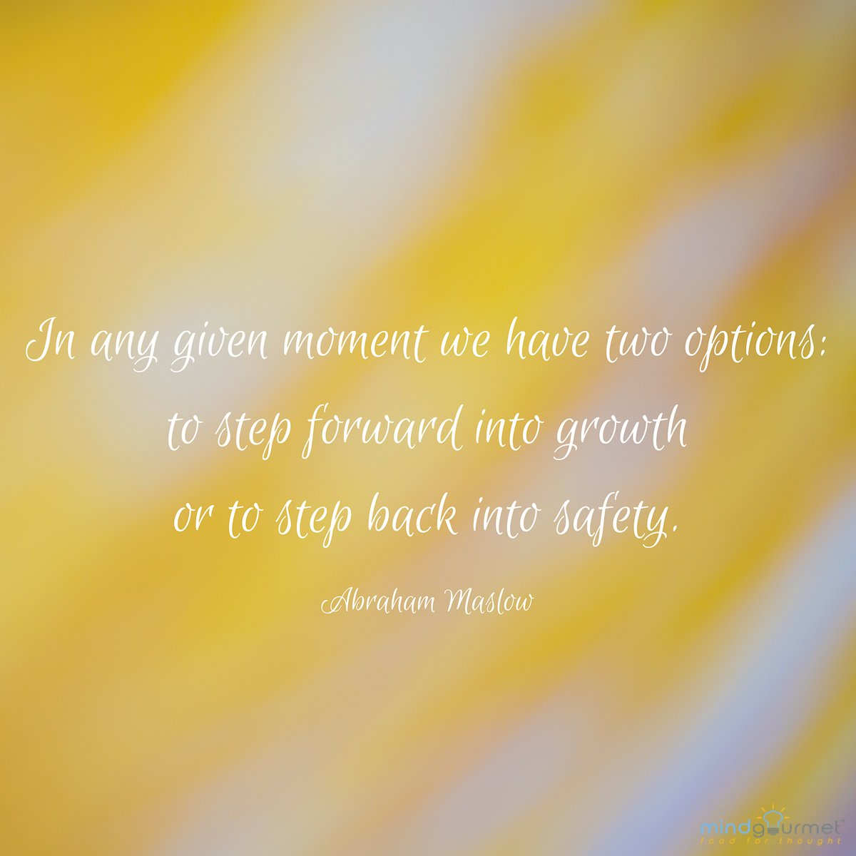 In any given moment we have two options: to step forward into growth or to step back into safety. - Abraham Maslow #AbrahamMaslow #comfortzone #comfortzoneweek #catchoftheday<br>http://pic.twitter.com/kktcETExH4
