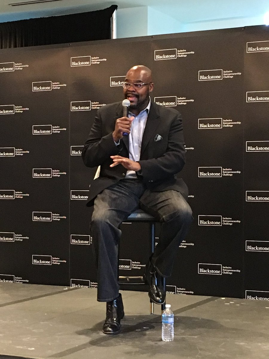 """""""Ideas from the entire room, not just a small subset of the room, are better for business,"""" former @McDonalds CEO and @CleveAveLLC founder Don Thompson at #IESummit @WorldBizChicago @ChicagoNEXT<br>http://pic.twitter.com/OPcWRpoXHu"""