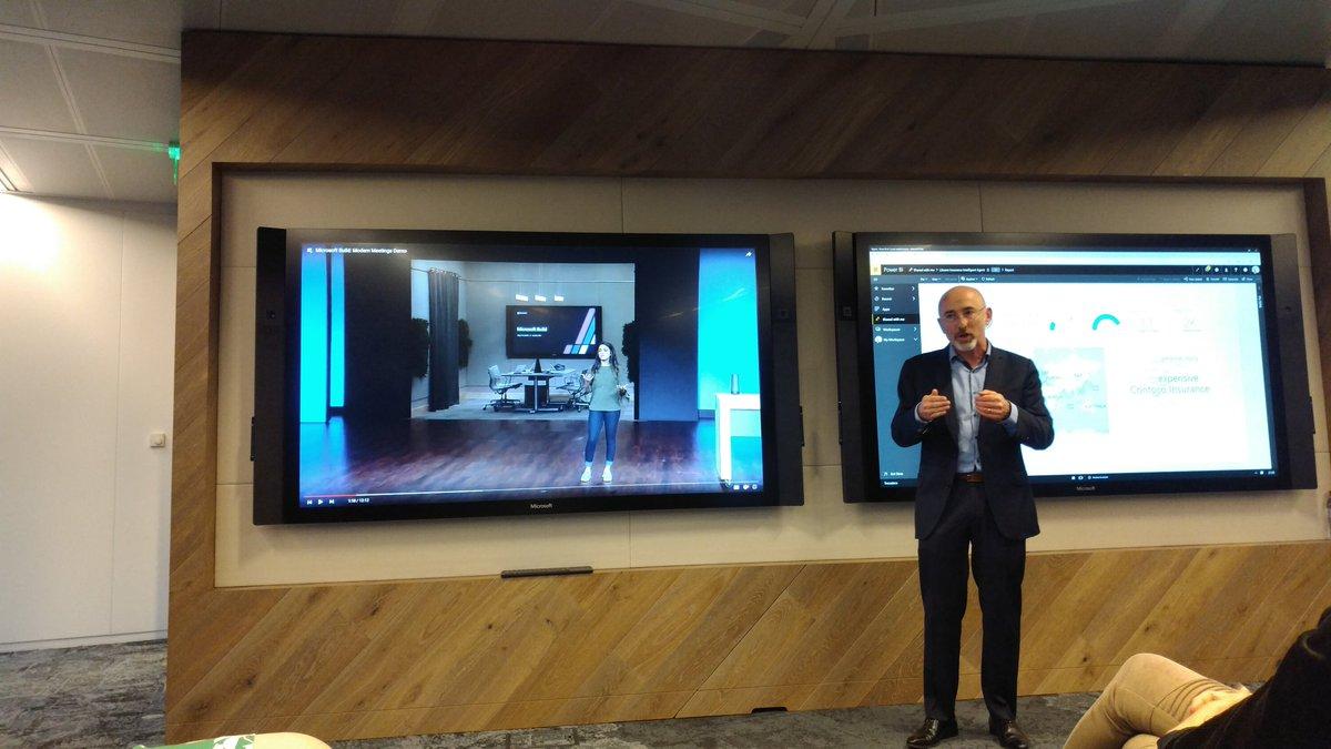 """""""La prochaine grande rupture ? Une gestion en temps réel des réunions en combinant objet physique qui enregistre ce qui est dit et retranscription dématérialisée des notes en live et multilingue avec traduction simultanée"""" #MicrosoftBuild #MicrosoftAI #AI #flashmeet  - FestivalFocus"""