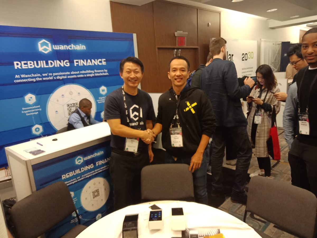 This partnership is amazing. Pundi & Wanchain. You guys are blowing the top off it. @helloiconworld next please #npxs #wan #icx #btc #cryto