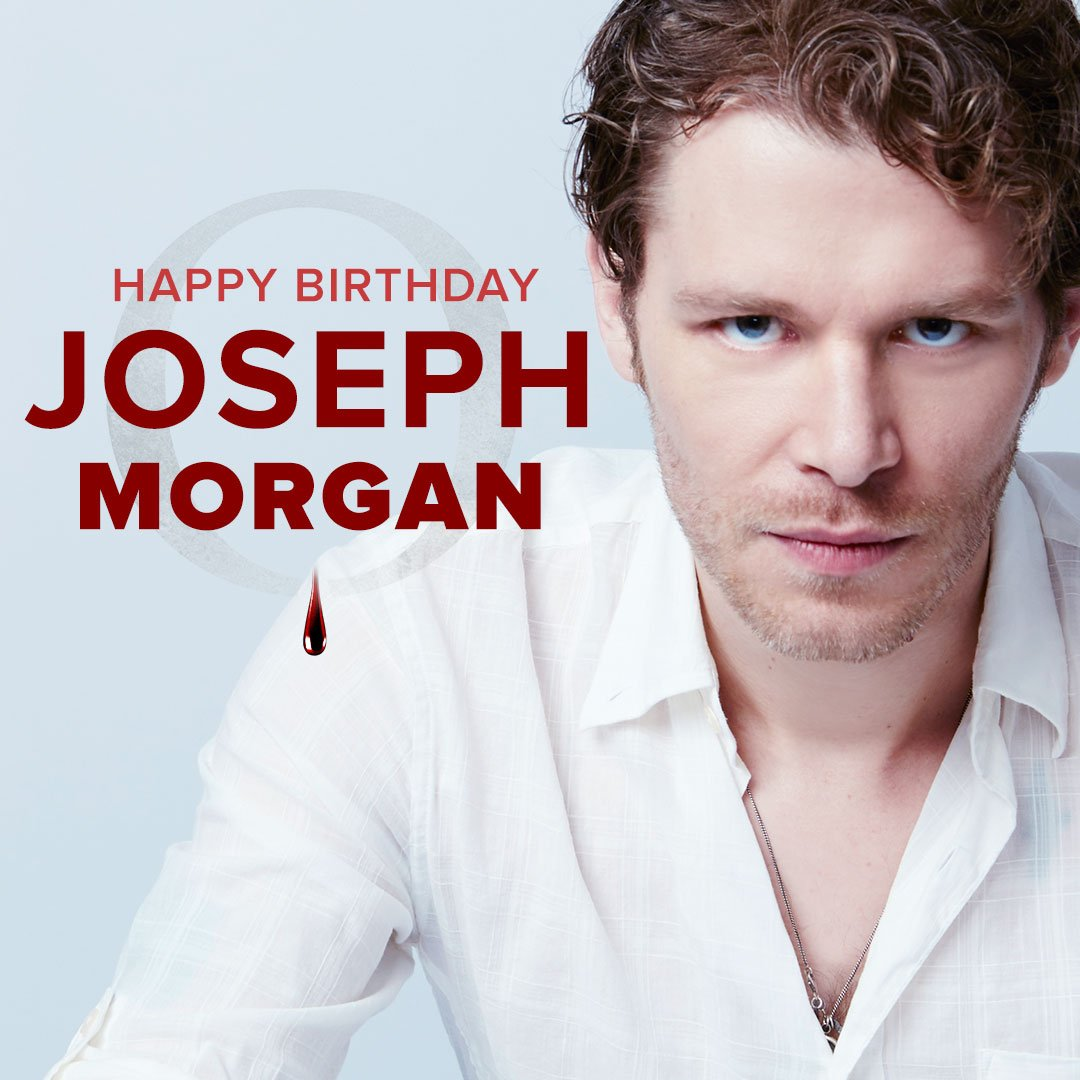 Celebrate @JosephMorgan's birthday and don't miss a new episode tonight at 9/8c on The CW! #TheOriginals https://t.co/CRFXO7bry3