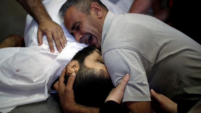 'He was my whole world.'  Palestinians mourn the killing of loved ones https://t.co/yc6cKFEcjX https://t.co/3l9ZAWonM0