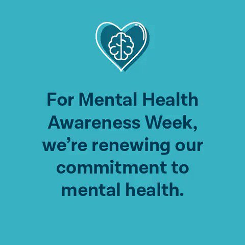 It's #MentalHealthAwarenessWeek – here's our commitment to mental health. Pass it on ↓ https://t.co/r7lPGPiCfV