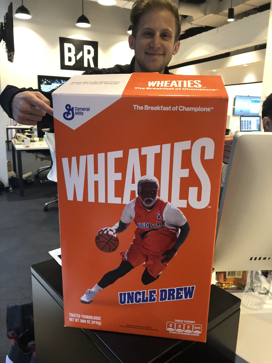 b841465ce8d0 the detail on the Nike-Wheaties Kyrie 4 Uncle Drew collab is unreal 🔥 🔥  pic.twitter.com tlIYhq9j1d