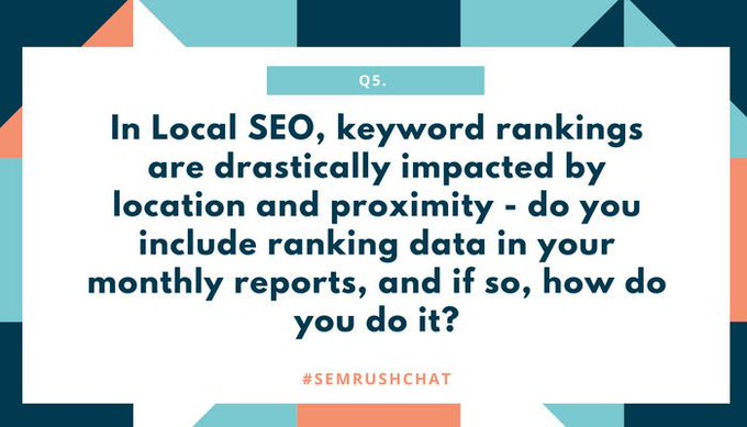 Local SEO Mistakes and How To Fix Them #SEMrushchat Recap
