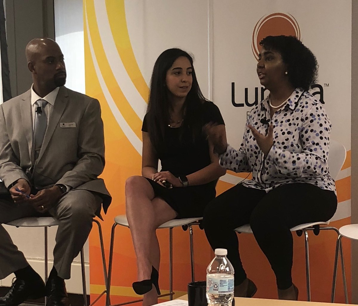 Critical we move beyond assumptions. Modeling the importance of student voice in policy.  #HigherEducation @LuminaFound #BeyondFinancialAid @prichardcom<br>http://pic.twitter.com/aM6k69d0vS