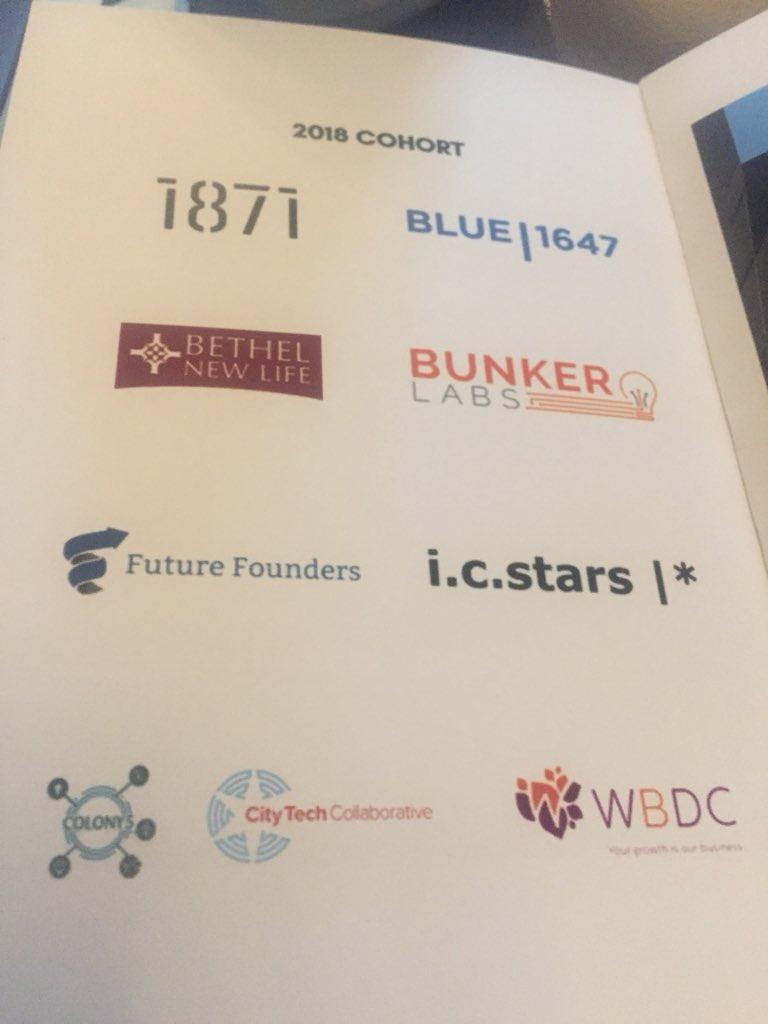 Congrats to ALL!!! MT @icstarsChicago In Chicago—@WorldBizChicago pres Andrea Zopp on Blackstone's Inclusive Entrepreneurship Challenge. #iesummit @BlackstoneEI @ChicagoNEXT @Bethel_WSF @1871Chicago @BLUE1647 @FutureFounders @TheBunkerLabs @WBDC <br>http://pic.twitter.com/oXJUE6nS85