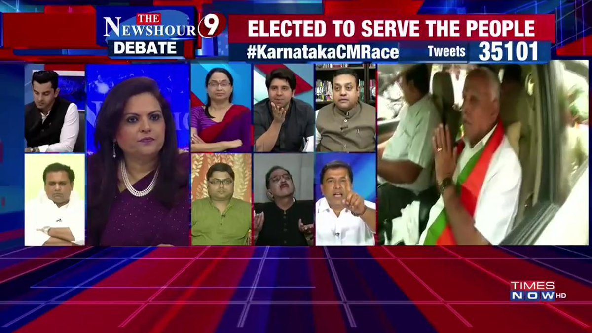 TIMES NOW's photo on #KarnatakaCMRace