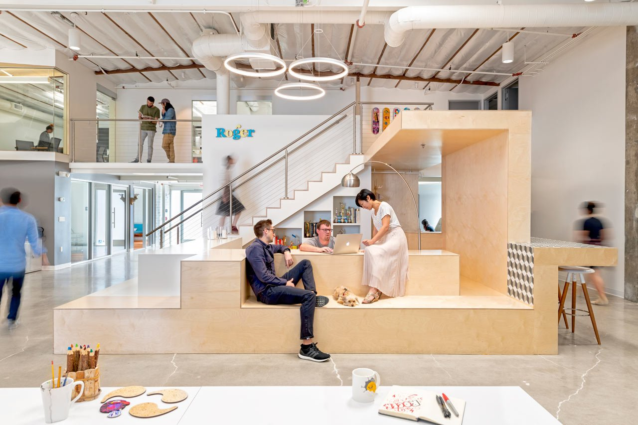 A Los Angeles Warehouse Becomes Roger Animation Studio by CHA:COL https://t.co/Up3Tvj1Eys https://t.co/XeYr6skUg1