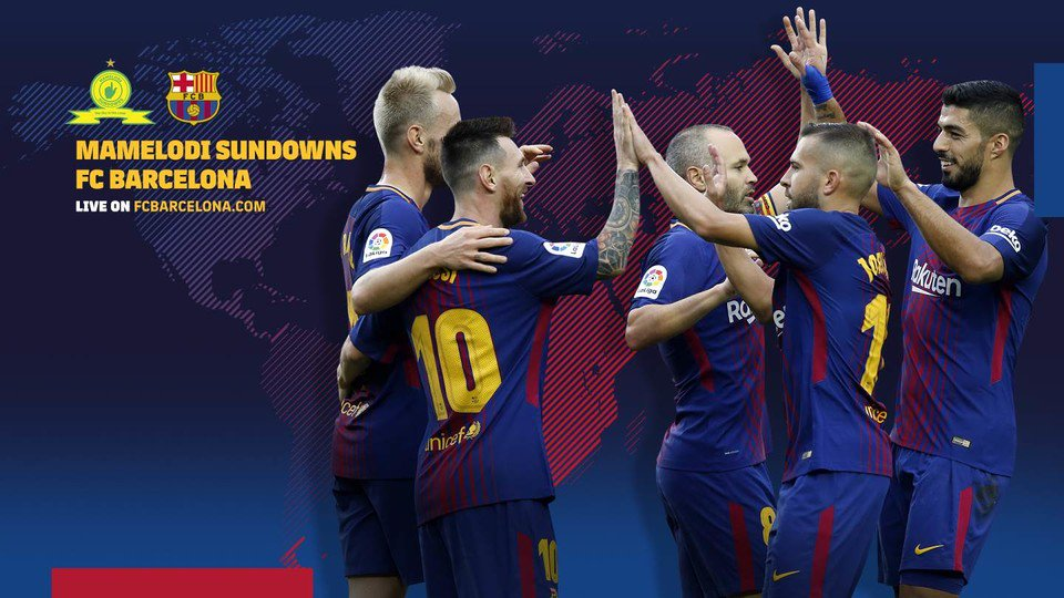 [�� EN DIRECTE] Segueix el #SundownsBarça per streaming �� https://t.co/evJv92v1Mm �� ���� #ForçaBarça https://t.co/8k2wBo9lUw