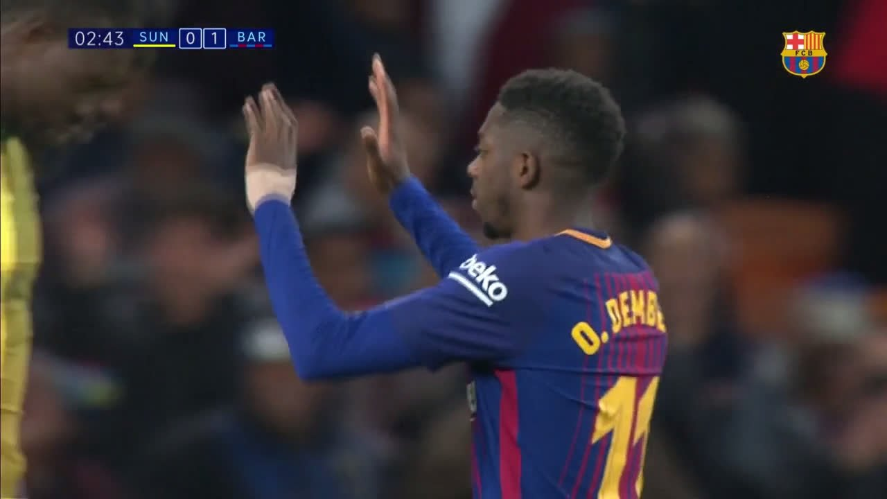 ���� ¡¡¡@Dembouz!!! #SundownsBarça https://t.co/YatRqt88KA