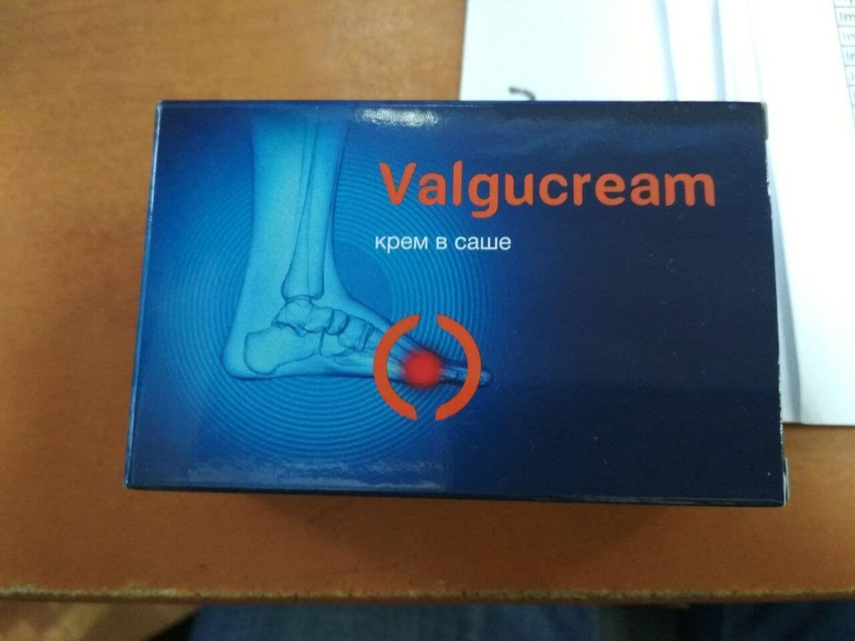 Valgucream - крем от вальгусной деформации в Саратове
