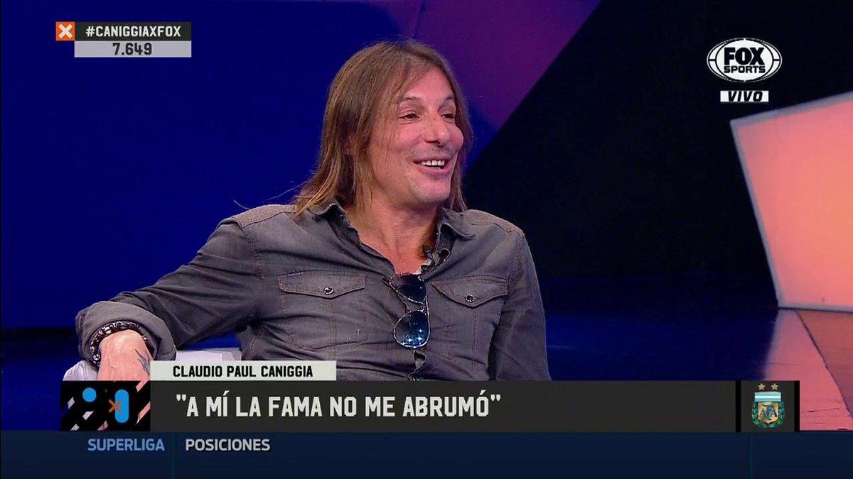 FOX Sports Argentina's photo on #CaniggiaxFOX