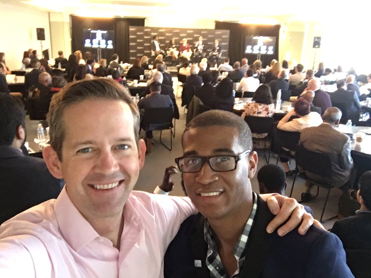 With my long time friend and mentee (though he gives me good advice) @AndersonSeanK @BlackstoneEI #IESummit in partnership with @WorldBizChicago @1871Chicago @TheBunkerLabs<br>http://pic.twitter.com/LlJjbB4Id9