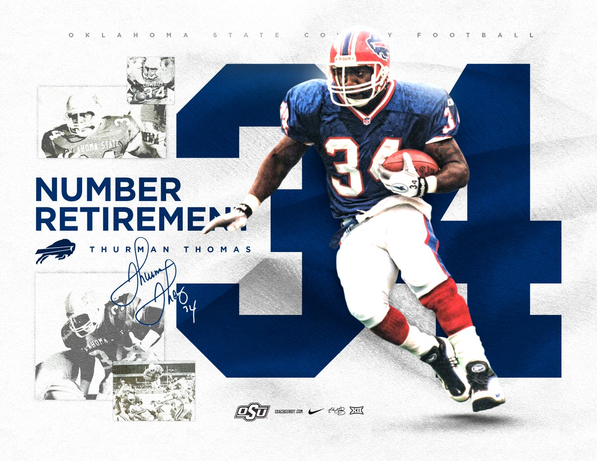 One of the best.  The @buffalobills will retire number 34 this season. Congratulations, @thurmanthomas!  #okstate #GoPokes<br>http://pic.twitter.com/ifToXF3lq5