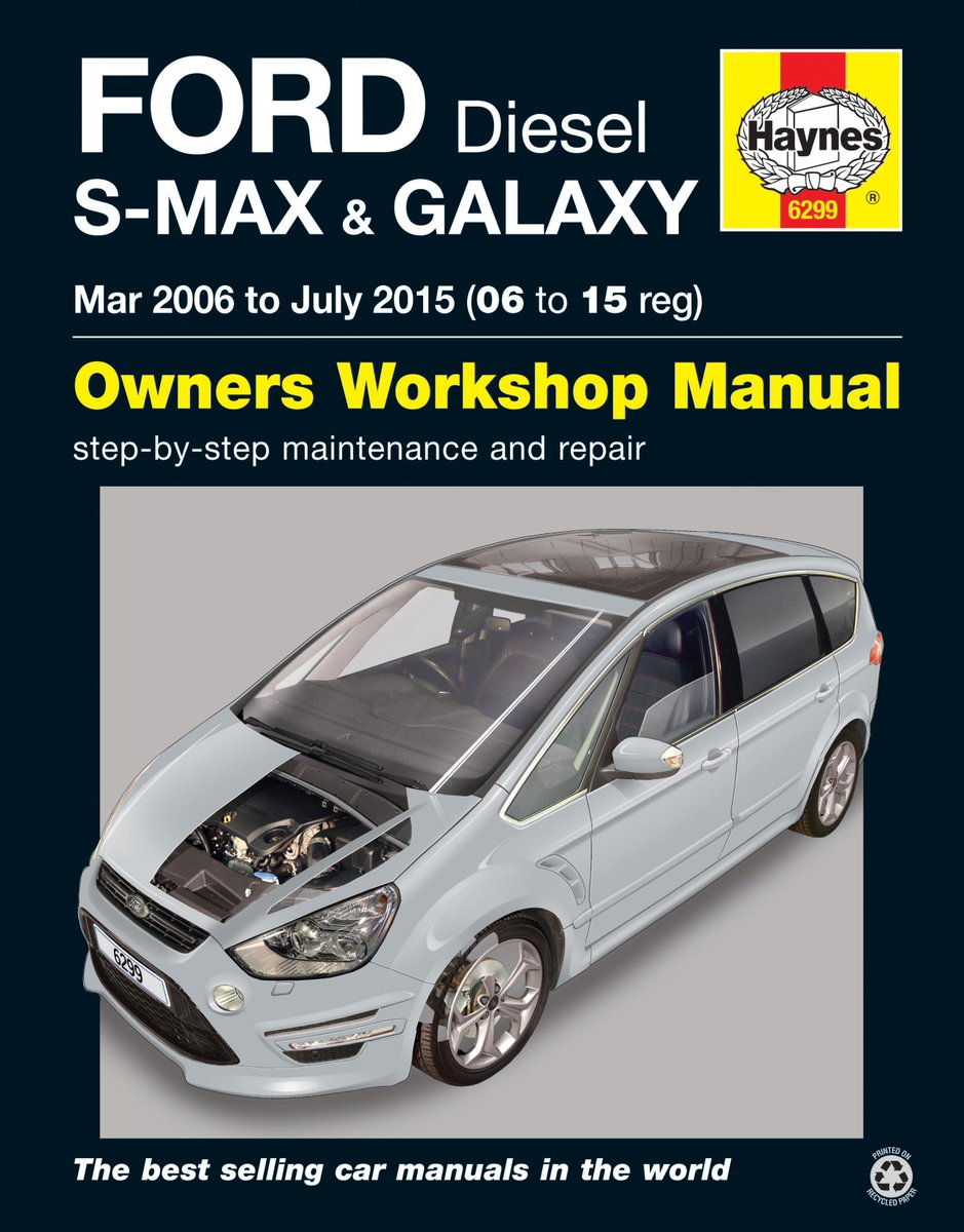 Ford Ka Fiesta Focus Mondeo Smax Galaxy Transit Connect Haynes Manuals