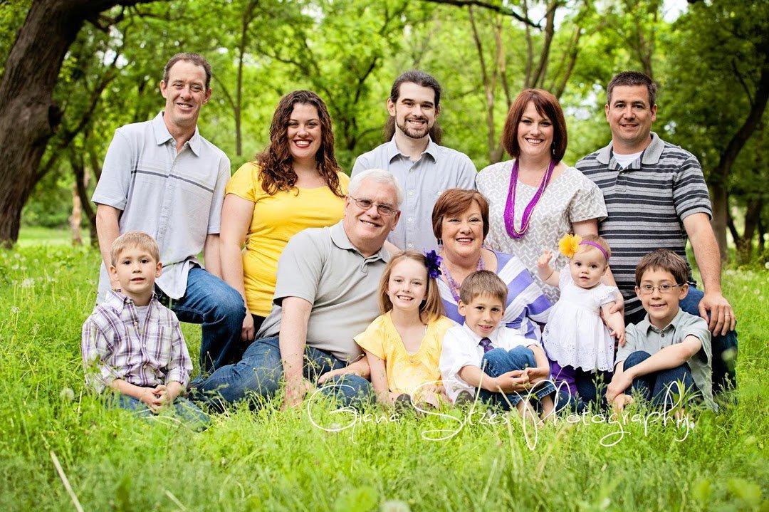 фото семьи фото огни