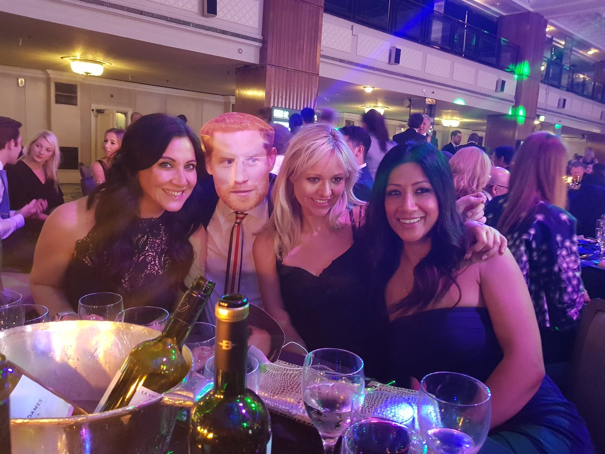 Snap of the night from the @LMA_Managers Awards goes to @ReshminTV @CarrieBrownTV, @tonguetweets and @CiaranSI!