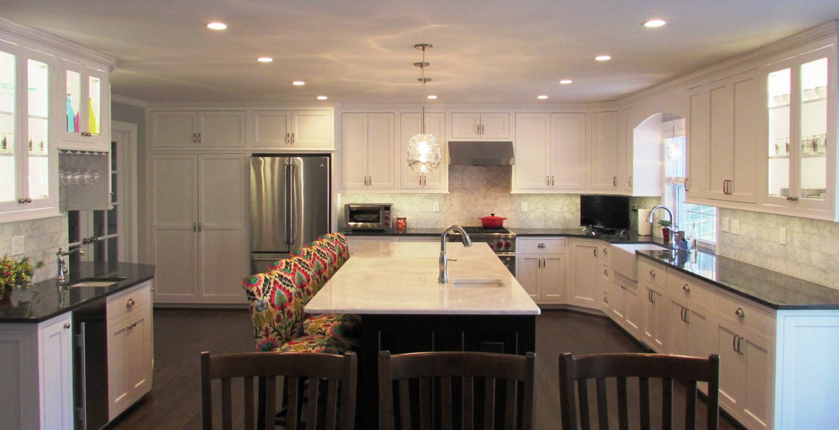 """Gorgeous Kitchen Renovation In Potomac Maryland: Talon Construction On Twitter: """"Great Time To Start"""