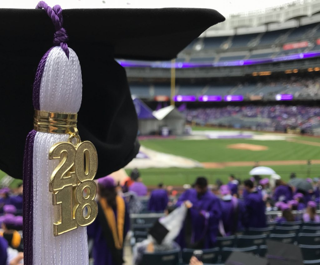 And it&#39;s official! #NYU2018, welcome to the #NYUAlumni family!   #CongrataGradNYU <br>http://pic.twitter.com/120cM9Q1t3