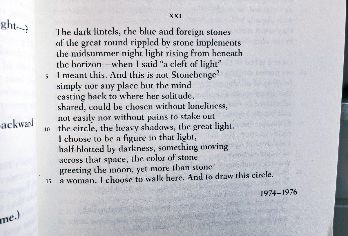 Adrienne Rich 21 Love Poems 3