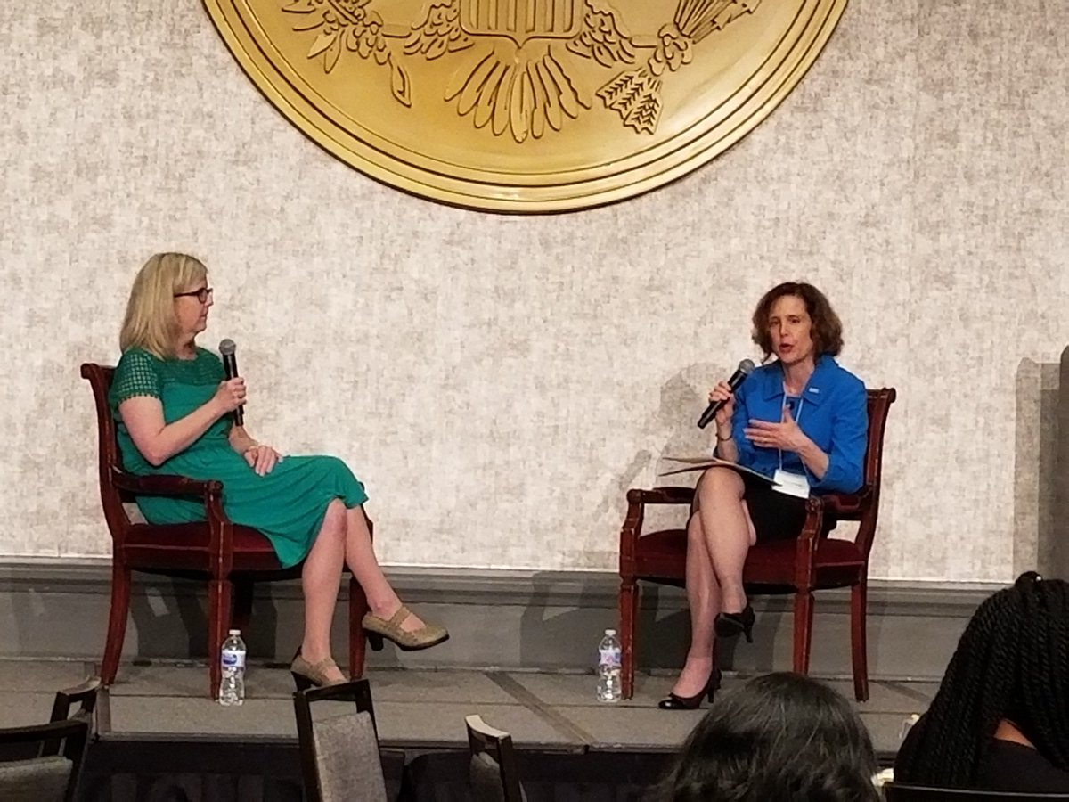 Fireside chat at on how bias affects women&#39;s mental health and treatment at the Women&#39;s Health Empowerment Summit, Breaking Barriers, Changing Futures!#HealthEquity4Her #NWHW hosted by @Hadassah<br>http://pic.twitter.com/GvMYYKkFNe
