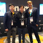 Very excited to meet more friends @helloiconworld @NEMofficial @xhlin @jimmyzhong_iost in Consensus2018, talked a lot about tech of #Nebulas and trends of #Blockchain #Consensus2018 #podhi #IOST #ICON #NEM