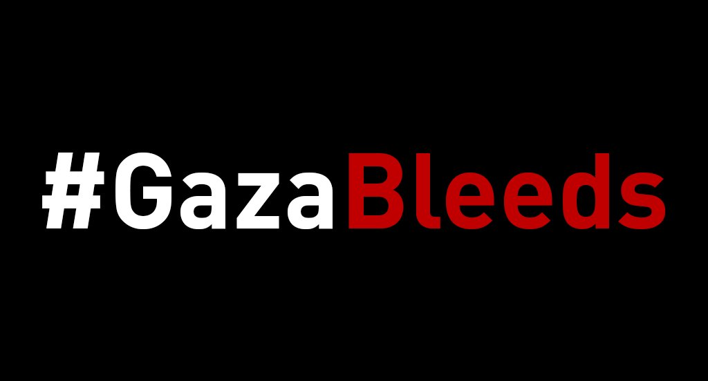 #GazaBleeds . #Gaza is at a breaking point after 11 years of stifling blockade. The world cant turn its back on their suffering.  . #DignityIsPriceless