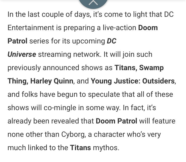 STREAM TITANS ON DC UNIVERSE AND NETFLIX on Twitter:
