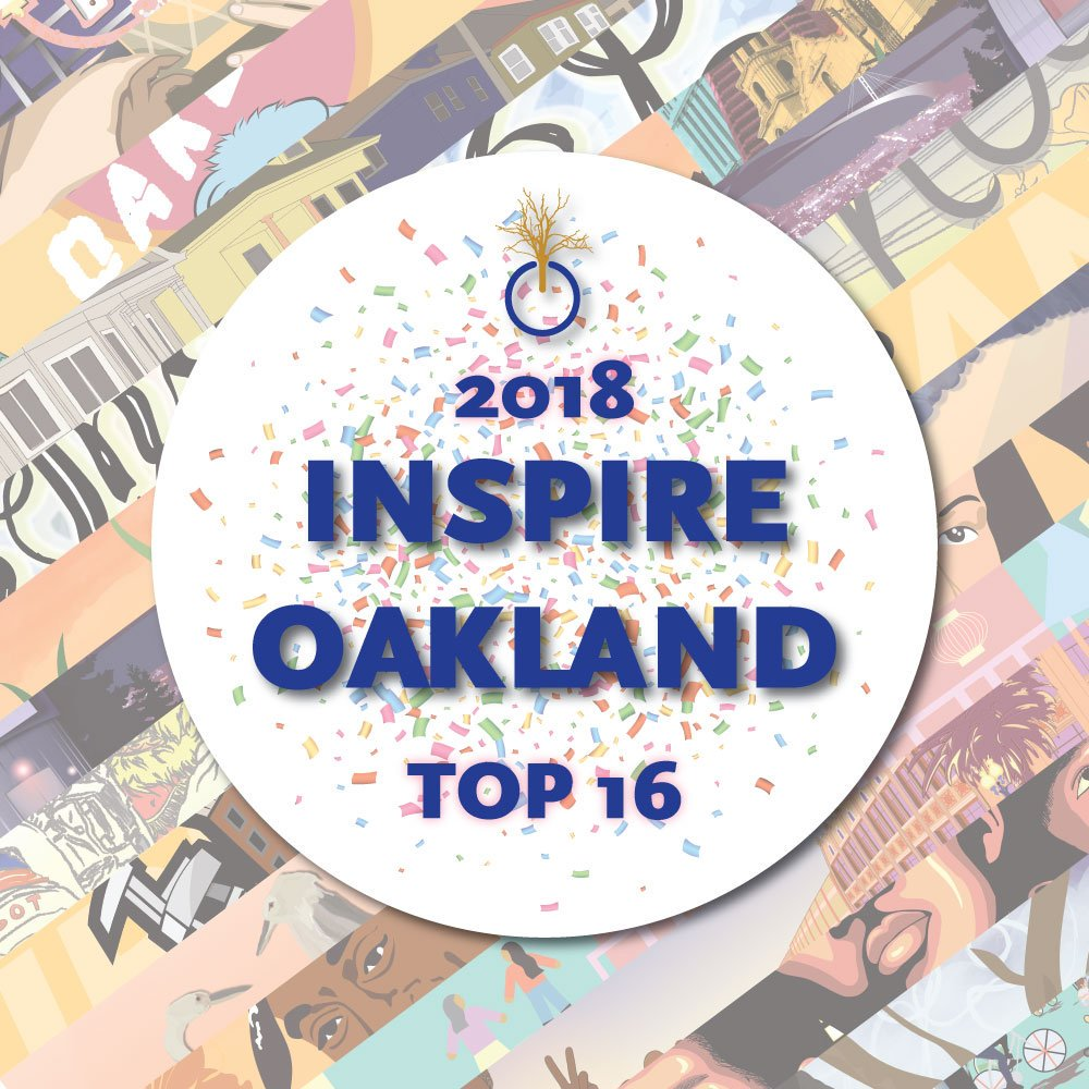 BREAKING: 800+ #Designers &amp; #Creatives around the #BayArea learned about #Design #CareersinTech, How to Create an #Online Presence utilizing #BRIDGEGOOD, and Build their #Portfolio with #InspireOakland! Today (5/16) the Top 16 Students pitch their designs @OaklandDigital!<br>http://pic.twitter.com/MDeKaItWpV