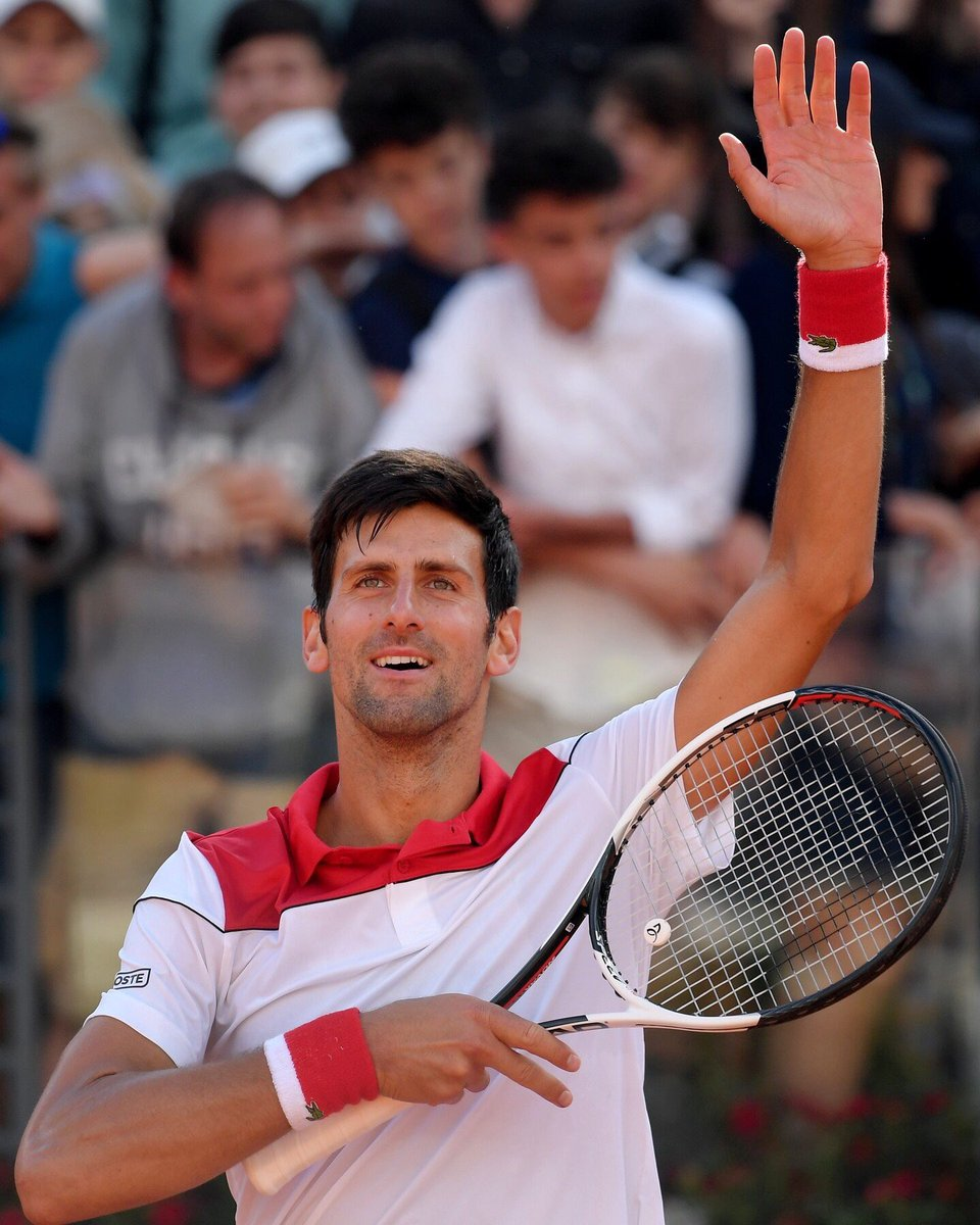 Novak Djokovic On Twitter Thank You For The Continued Love And Support Nolefam So Grateful To Play On Clay Here At Internazionalibnlditalia R3 Ajdeee Ibi18 Https T Co Dovhf7puei