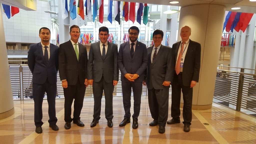 Amb. @hmohib and Minister @sharyobee met with Mr. Gardner, Chief Counsel for the Commercial Law Development Program of @CommerceGov, and his team to discuss new government developments in the areas of communication and information technology for #AFG.