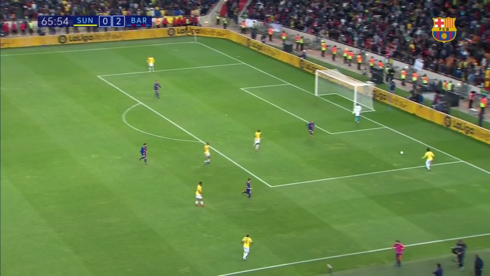 ⚽ Nice finish @aftgomes ! #SundownsBarça (0-3) https://t.co/P2hdKGaMZD