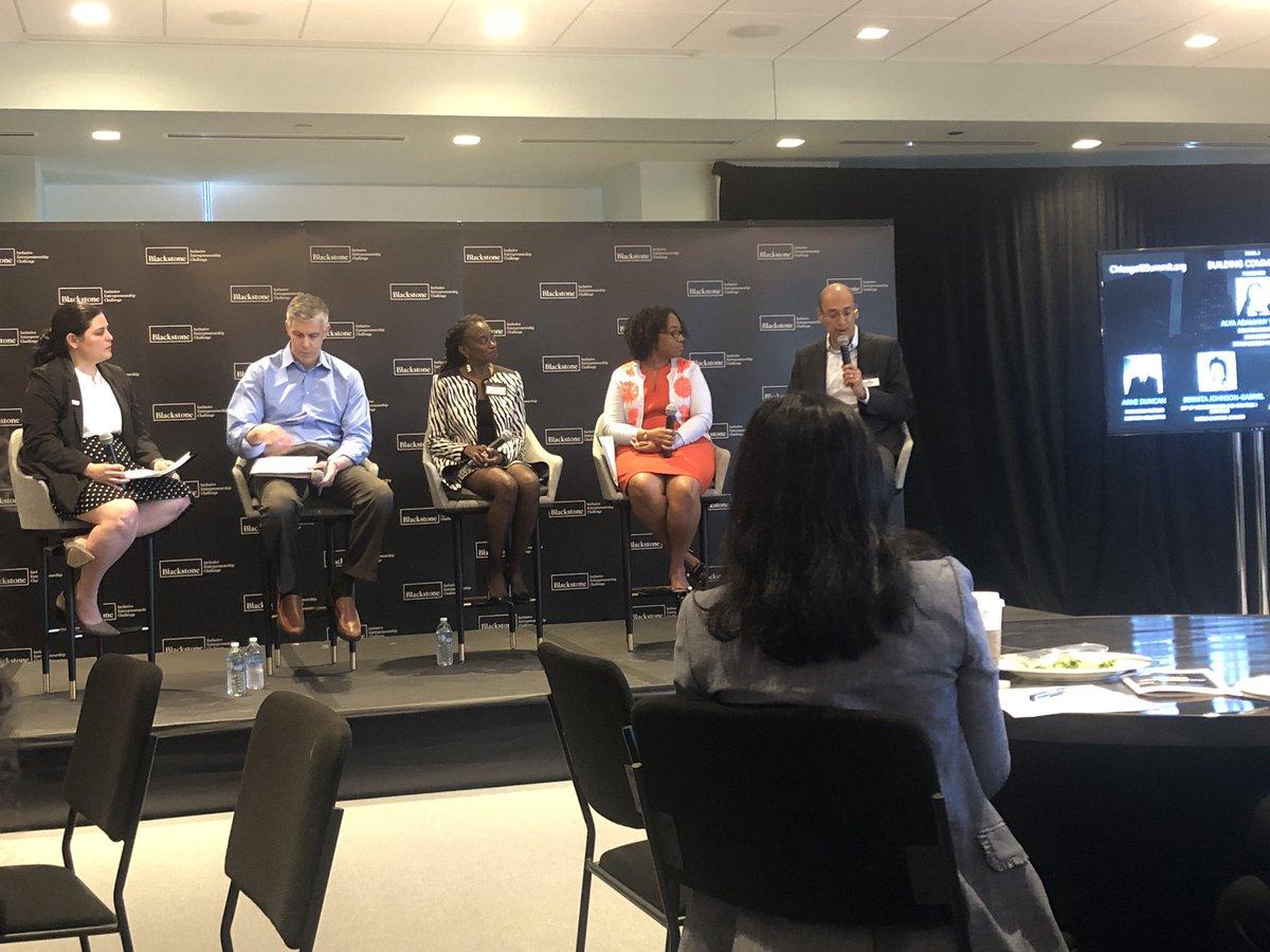 How can we build stronger, more connected entrepreneurial communities? #IESummit @BlackstoneEI @WorldBizChicago @ChicagoNEXT @jpmorgan <br>http://pic.twitter.com/pPZbSQIlUA
