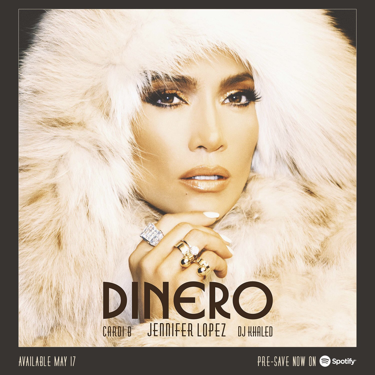 Pre-save @JLo's new track #DINERO ft. @djkhaled & @iamcardib on @Spotify now! �������������� https://t.co/azEGkKVaXm