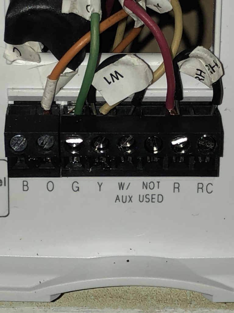 Honeywell Home On Twitter Does Your Heat Pump Have A Backup Heat Heat Source Did Your Previous Thermostat Have Jumper Wires Between Y And W Charles