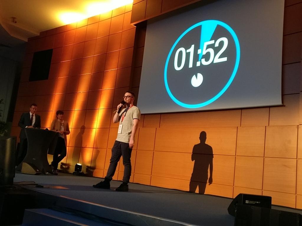 #trophees19 : pitch du projet #Yggdrasill par @M4dNation , lauréat de la #StartupBattleLim by @aliptic_  - FestivalFocus