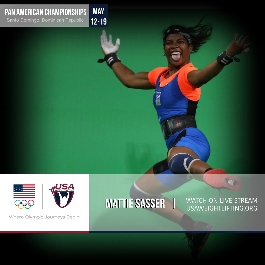 """Sasser Companies Inc: USA Weightlifting On Twitter: """"She's 2-for-2 In Snatch"""