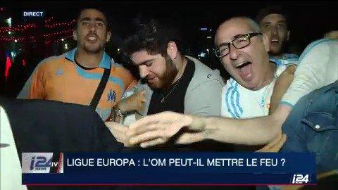 Les #Marseillais de Tel Aviv sont réunis pour suivre la finale de la Ligue Europa @OM_Officiel  - FestivalFocus