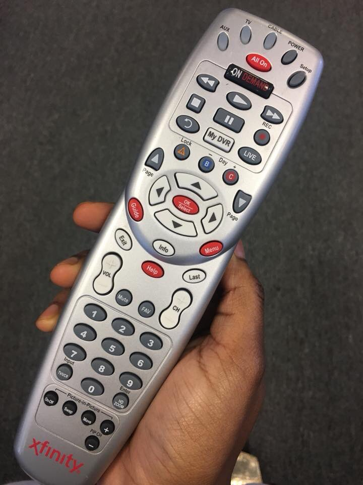 Life was great when this was still the Comcast remote