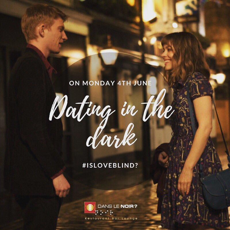 dating in the dark restaurant london