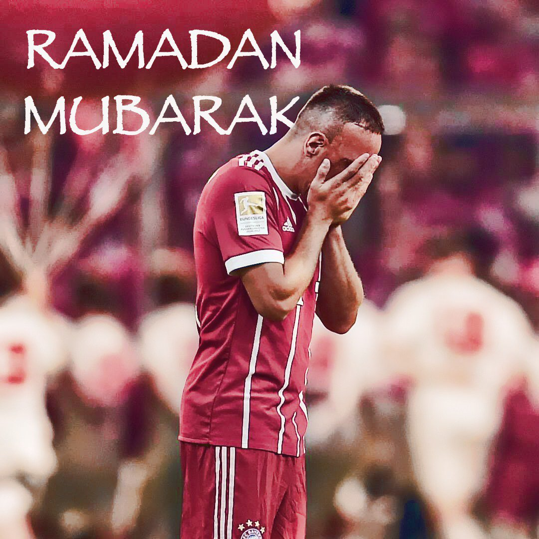 Franck Ribéry's photo on Ramadan Mubarak