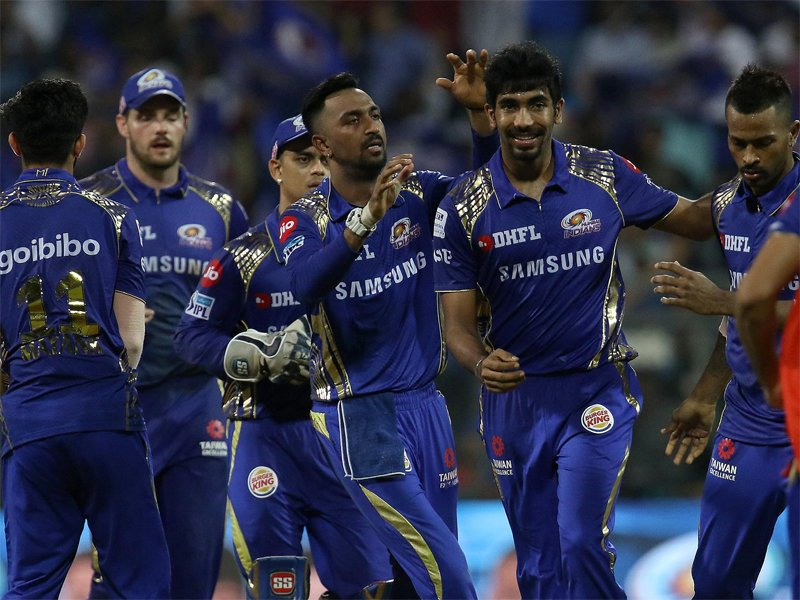 #IPL2018 #MIvKXIP  @mipaltan beat @lionsdenkxip by 3 runs, move to fourth   READ: https://t.co/M0MTizeY88 https://t.co/XQXFWYh59k