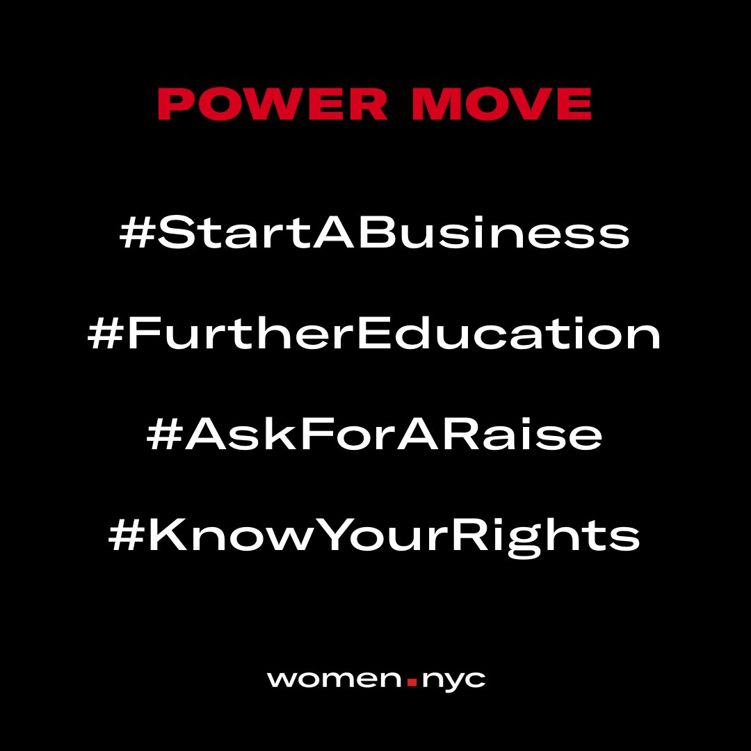 My #NYCPowerMove is co-founding the largest career community for women. What&#39;s yours? <br>http://pic.twitter.com/DvLlfvIF9n
