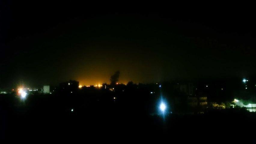#Terkini   Ramadan pertama di bumi Palestin.   Kapal perang Israel melancarkan serangan di beberapa kawasan Semenananjung Gaza.   #AmanPalestin  #GazaUnderAttack