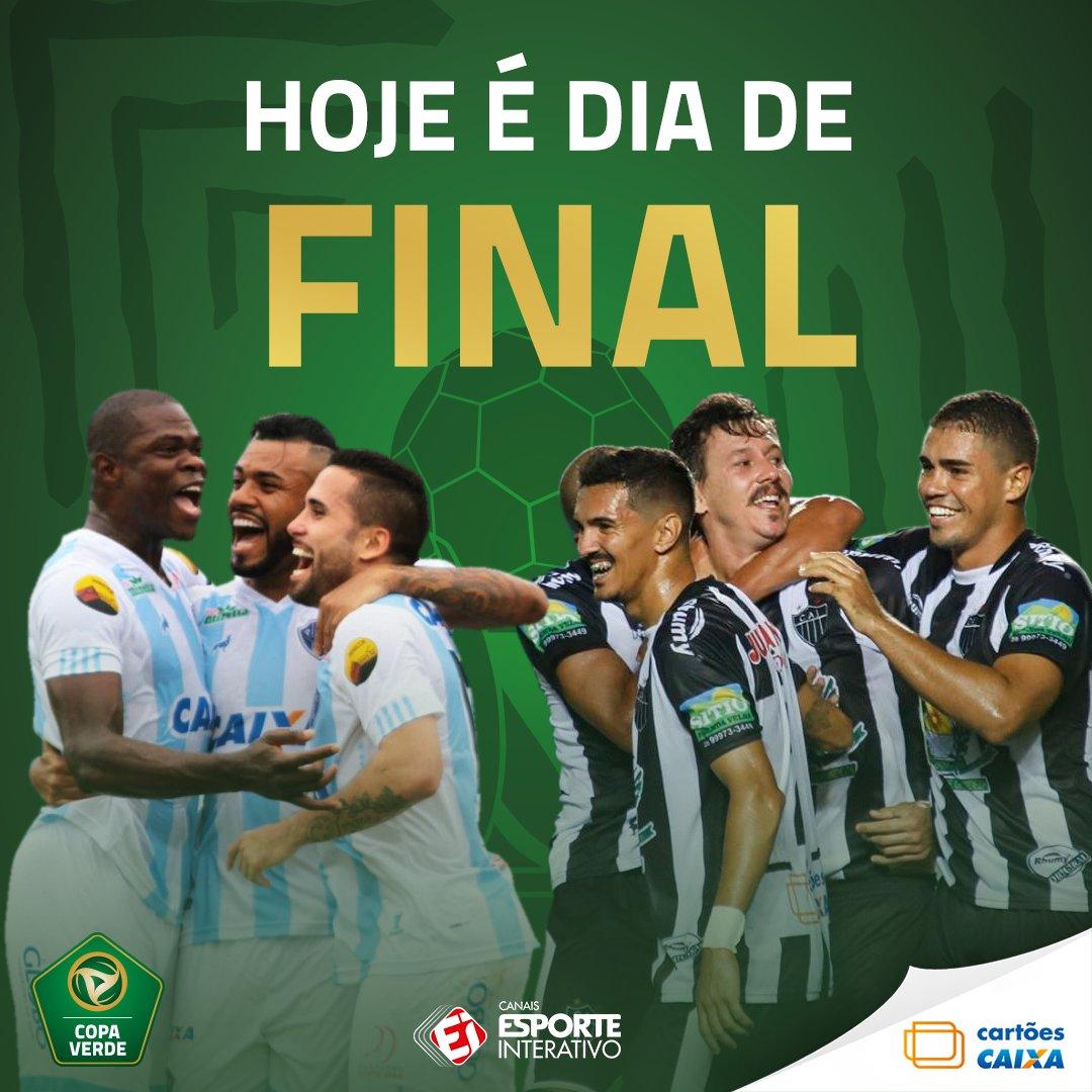 É HOJE! 🔥 É dia de decisão da Copa Verde 8612bd4ba993b