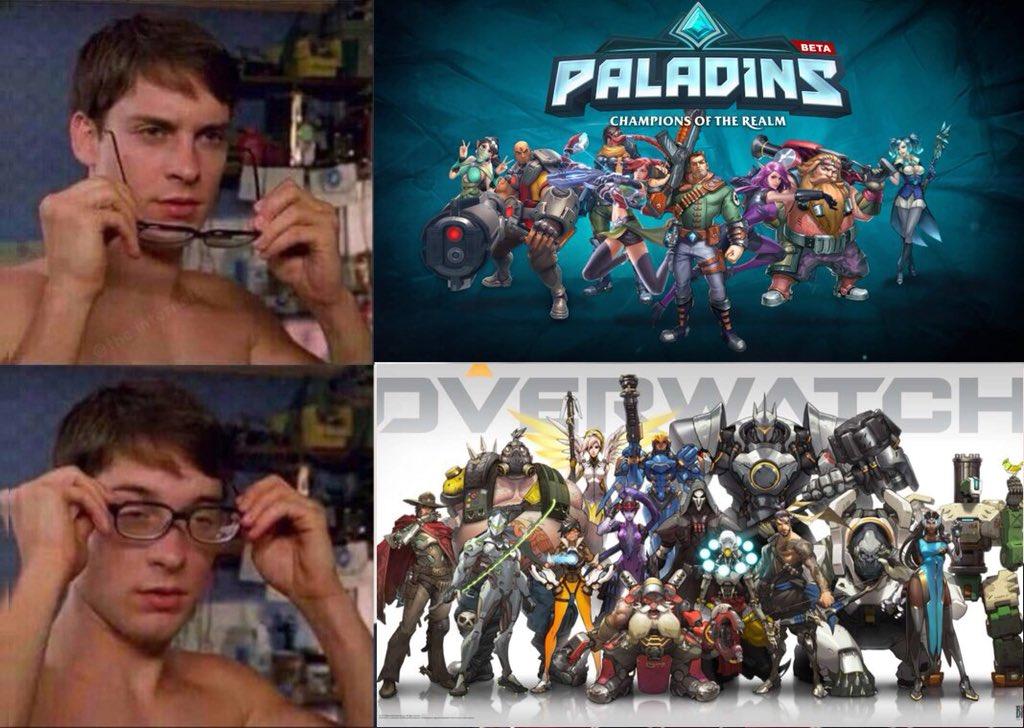 Overwatch Memes On Twitter Ah Much Better Overwatch Paladins