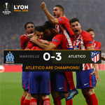 🎉 CHAMPIONS 🎉  Atleti 👏👏👏  #UELfinal