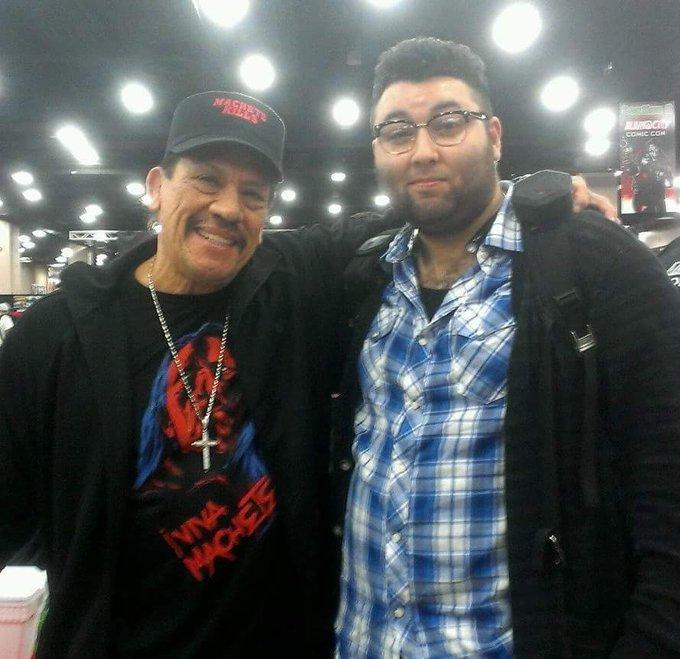 Happy Birthday Danny Trejo AKA Machete one of the coolest anti-hero around.
